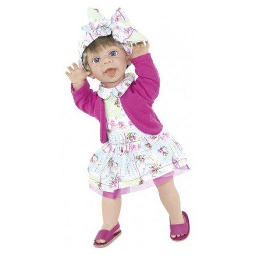 Кукла Lamagik Ничего не слышу девочка в платье и розовой кофте, 38 см, 12024