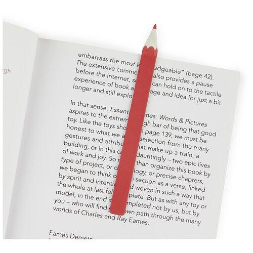 Купить Balvi Закладка для книг Graphite красная, Закладки