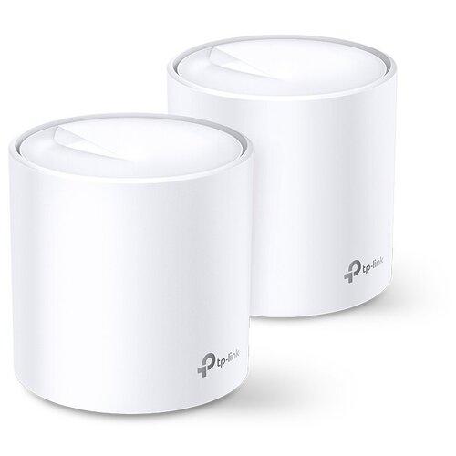 Фото - Wi-Fi Mesh система TP-LINK Deco X20 (2-pack), белый mesh wi fi система tp link deco m5 2 pack