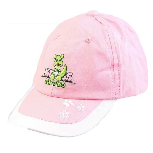Купить Бейсболка Be Snazzy размер 50, светло-розовый, Головные уборы