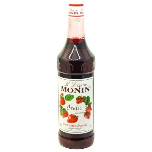 Сироп Monin Клубника 1 л vedrenne карамель сироп 0 7 л
