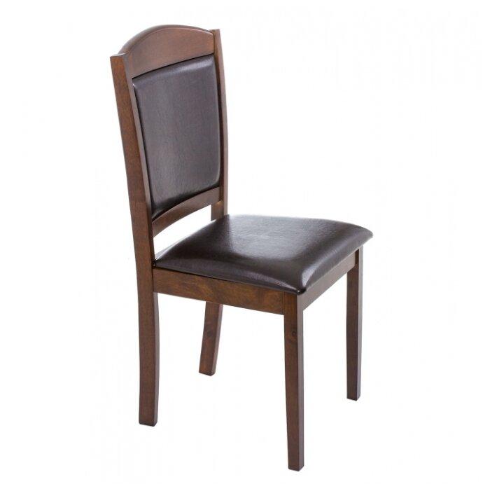 Деревянный стул Woodville Goodwin темно-коричневый