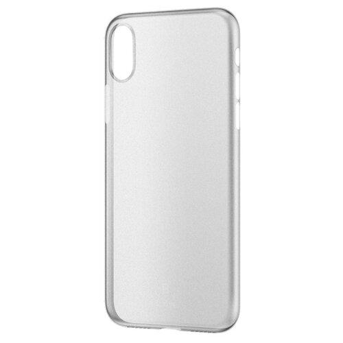 Фото - Чехол-накладка Baseus Wing Case для Apple iPhone Xs Max white чехол накладка baseus thin case для apple iphone x black
