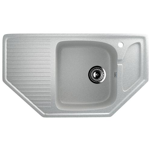 Врезная кухонная мойка 78 см Ulgran U-109 310 серый кухонная мойка и смеситель ulgran u 110 белый