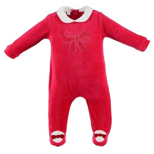Комбинезон Ido размер 86, красный комбинезон утепленный для девочки batik торопыжка цвет розовый 147 19з размер 86