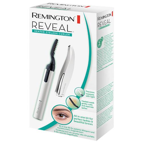 Плойка для завивки ресниц Remington Reveal EC300 белый/черный