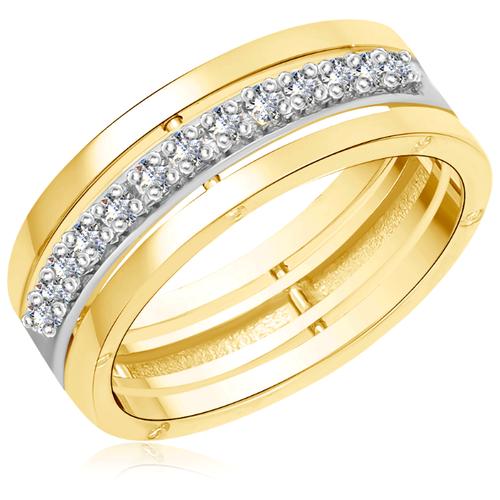 Бронницкий Ювелир Кольцо из желтого золота R0527101020, размер 20 бронницкий ювелир кольцо из желтого золота 55020541 размер 20
