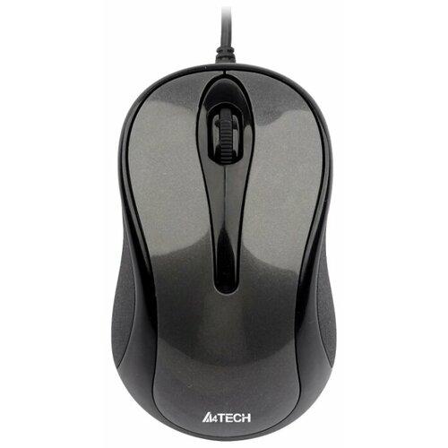 цена на Мышь A4Tech N-350-1 Black-Grey USB