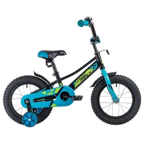 Детский велосипед Novatrack Valiant 14 (2019) черный (требует финальной сборки) велосипед novatrack valiant черный 20