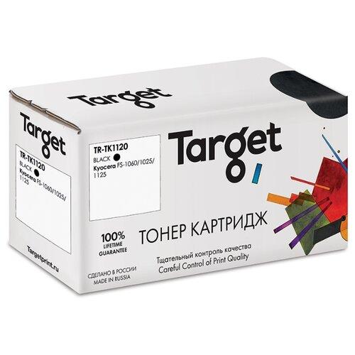 Фото - Тонер-картридж Target TK1120, черный, для лазерного принтера, совместимый тонер картридж target tk715 черный для лазерного принтера совместимый