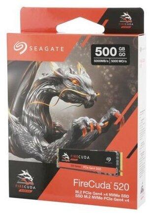 Твердотельный накопитель Seagate FireCuda 520 500 GB (ZP500GM3A002) — цены на Яндекс.Маркете