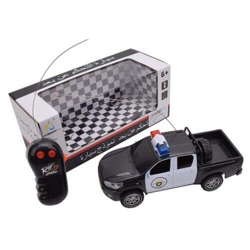 Купить Внедорожник China Bright Pacific Полиция (1814572) черный/белый, Радиоуправляемые игрушки
