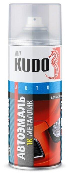 KUDO аэрозольная автоэмаль 1К металлик