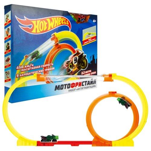 Трек Hot Wheels Мотофристайл Т16720 трек hot wheels турбо трек т14099