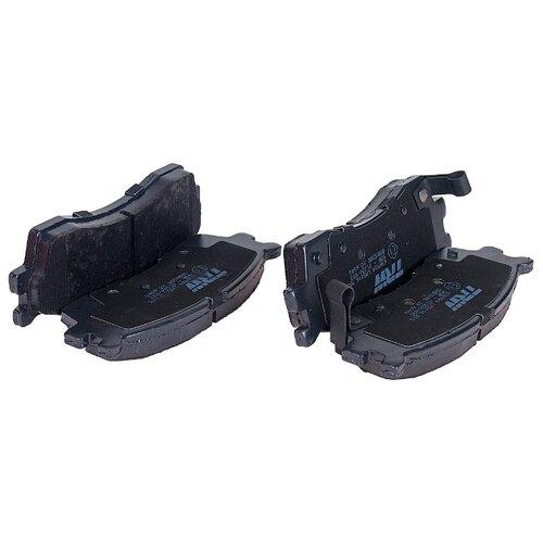 Фото - Дисковые тормозные колодки передние TRW GDB3285 для Kia (4 шт.) дисковые тормозные колодки передние trw gdb3286 для toyota highlander lexus rx 4 шт