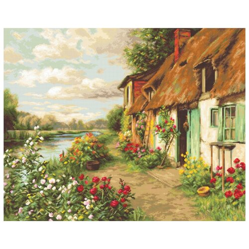 Купить Набор для вышивания Пейзаж 42, 5 х 34 см B571, Luca-S, Наборы для вышивания