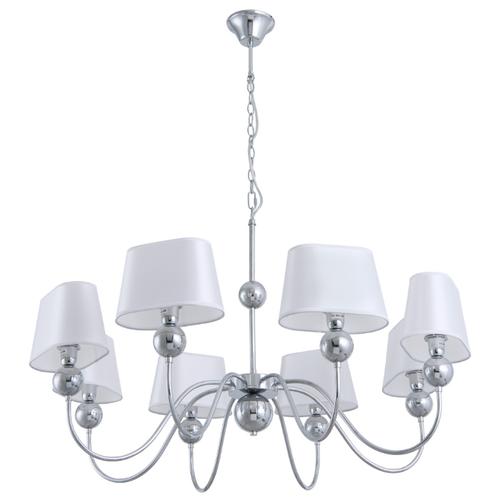 Люстра Arte Lamp Turandot A4012LM-8CC, E14, 480 Вт