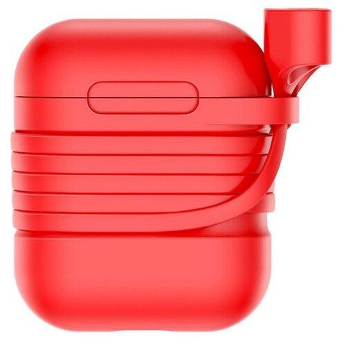 Чехол Baseus для AirPods красный