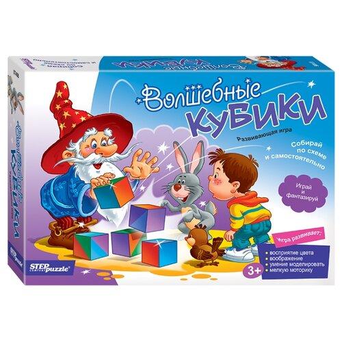 Купить Кубики Step puzzle Волшебные кубики 87406, Детские кубики