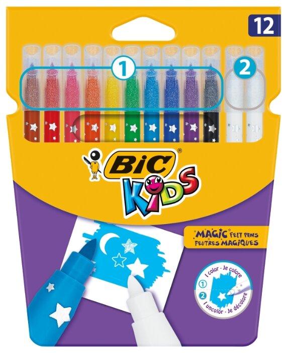"BIC Фломастеры ""Kids Magic"" 12 шт. (9202962)"