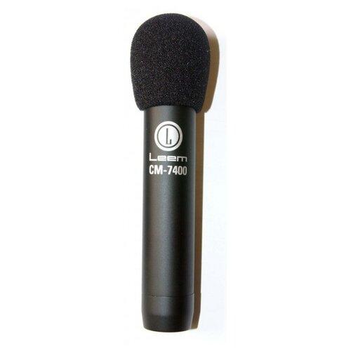 Микрофон LEEM CM-7400, черный