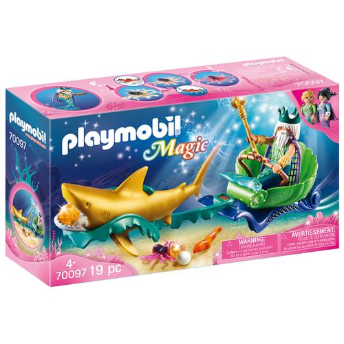 Купить Набор с элементами конструктора Playmobil Magic 70097 Король морей, Конструкторы