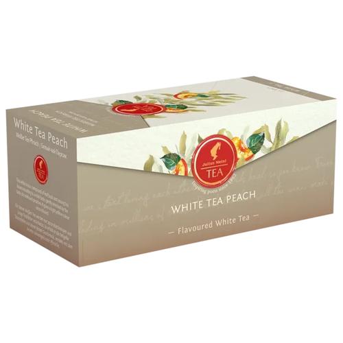 Чай белый Julius Meinl персик в пакетиках, 25 шт. чай черный julius meinl assam south india blend в пирамидках 18 шт