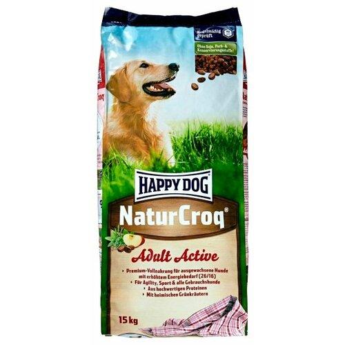 Сухой корм для собак Happy Dog NaturCroq, для активных животных 15 кг