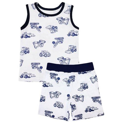 Пижама KotMarKot размер 116, белый