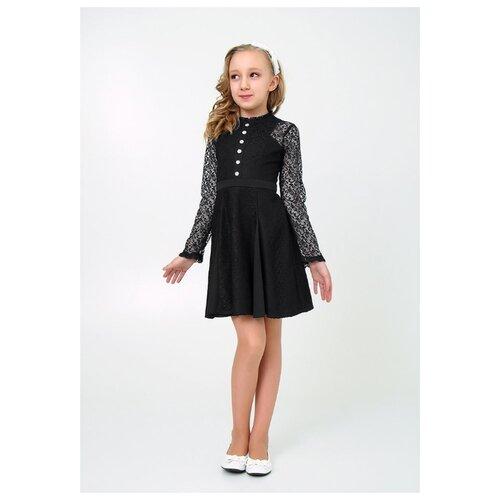 Купить Платье Ladetto размер 32-134, черный, Платья и сарафаны