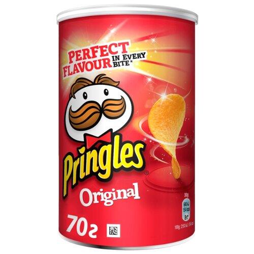 Чипсы Pringles картофельные Original, 70 г чипсы pringles картофельные crab 70 г