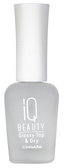 Верхнее покрытие IQ BEAUTY Glossy Top & Dry 12.5 мл