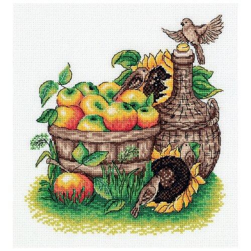 Купить Klart набор для вышивания 8-344 Урожай яблок , Наборы для вышивания