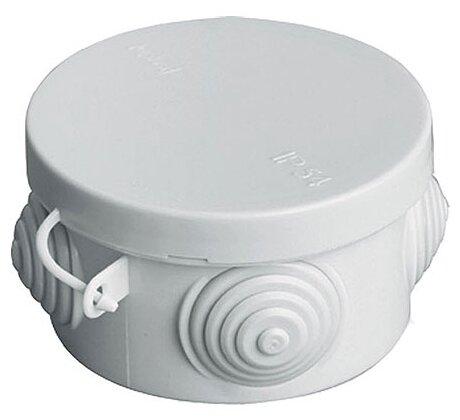Распределительная коробка TDM ЕLECTRIC SQ1401-0501 наружный монтаж 65x65 мм