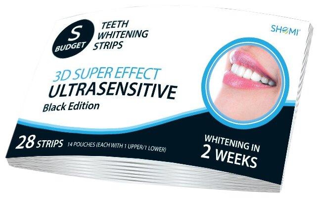 Отбеливающие полоски для зубов Shomi BUDGET-US