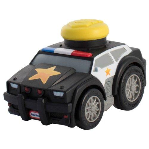 Легковой автомобиль Little Tikes Slammin' Racers Police (647246) 14 см черный машинка little tikes 643309e4c черный белый