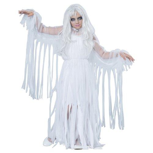Купить Костюм California Costumes Призрак 00489, белый, размер XL (12-14 лет), Карнавальные костюмы