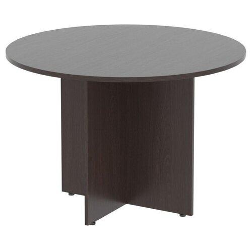 Стол для переговоров Skyland Imago ПРГ-1, d: 110 см, венге магия по цене 5 390