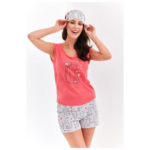 Пижама Taro, размер M, коралловый