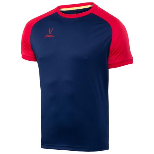 Футболка Jogel размер XS, темно-синий/красный футболка printio размер xs красный