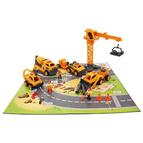 Купить Saipo Строительная площадка SC2001 желтый, Машинки и техника