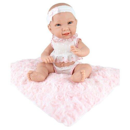 Пупс Munecas Manolo Dolls Valeria, 33 см, 9039 кукла младенец manolo dolls мягконабивной canguros 30см 4500