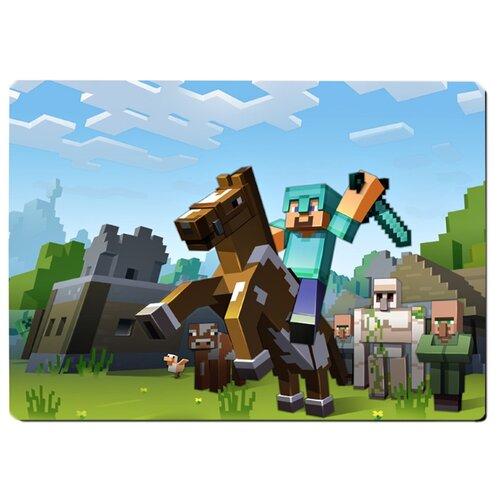 Коврик для мыши Minecraft, Майнкрафт на коне
