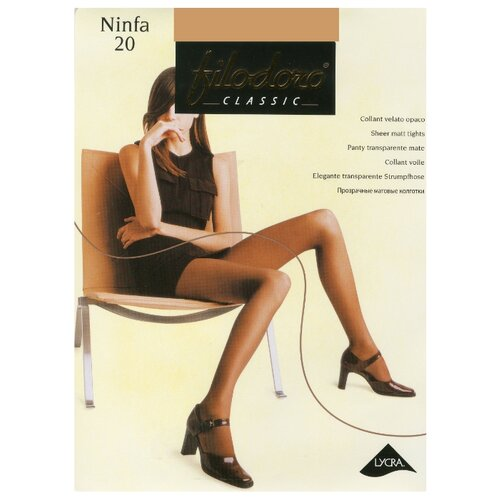 Колготки Filodoro Classic Ninfa 20 den cappuccio 2-S (Filodoro)Колготки и чулки<br>