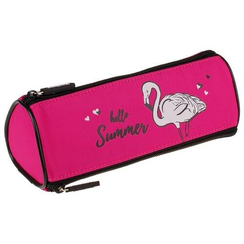 Купить Berlingo Пенал Flamingo (PM07103) розовый, Пеналы