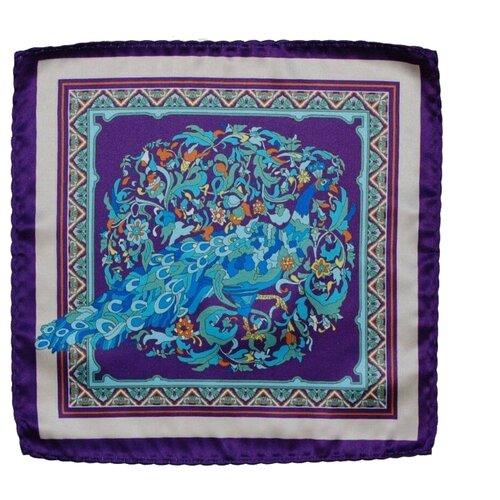 Нагрудный платок OTOKODESIGN 501/531 фиолетовый/голубой paura платок