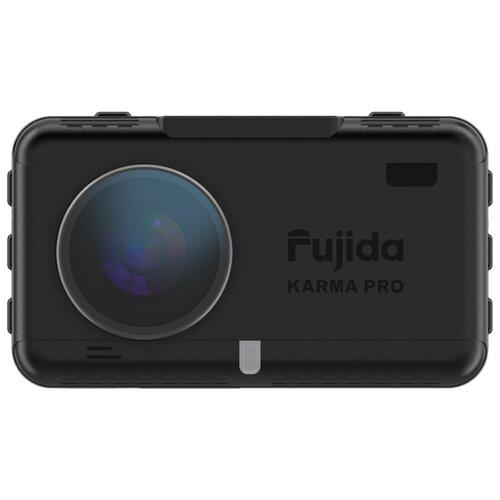 Видеорегистратор с радар-детектором Fujida Karma Pro S WiFi, GPS, ГЛОНАСС черный радар детектор fujida magna