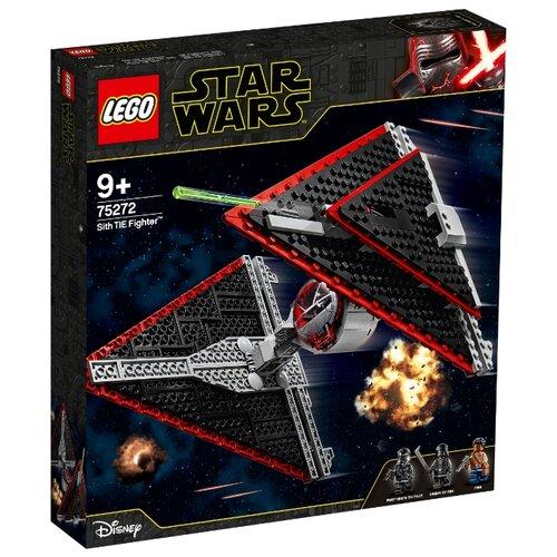 Конструктор LEGO Star Wars 75272 Episode IX Истребитель СИД ситхов lego star wars 75272 конструктор лего звездные войны истребитель сид ситхов