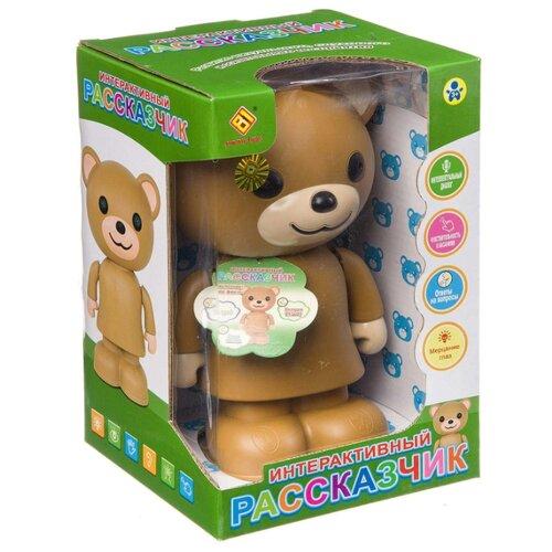 Купить Развивающая игрушка Jia Du Toys Интерактивный рассказчик. Медведь коричневый, Развивающие игрушки