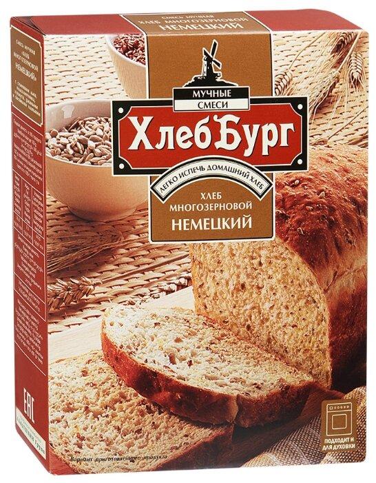 ХлебБург Смесь мучная Хлеб многозерновой Немецкий, 0.4 кг